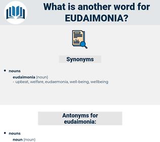 eudaimonia, synonym eudaimonia, another word for eudaimonia, words like eudaimonia, thesaurus eudaimonia