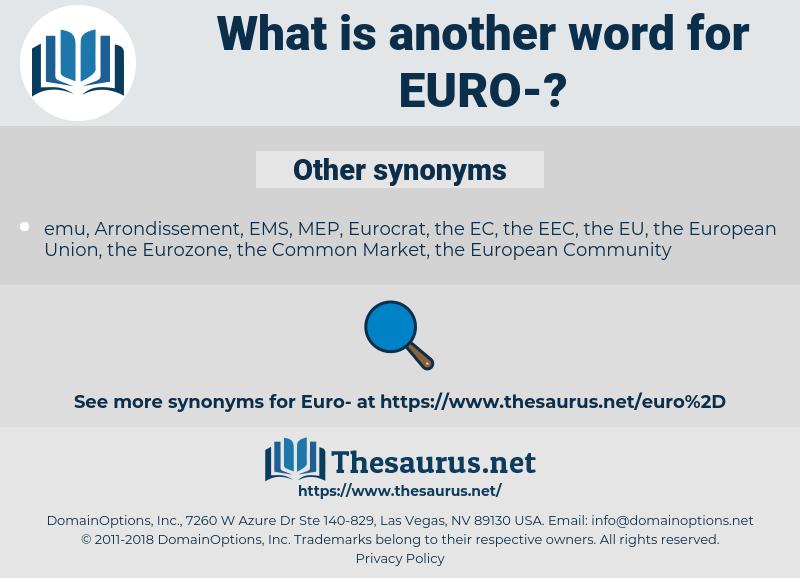 euro, synonym euro, another word for euro, words like euro, thesaurus euro