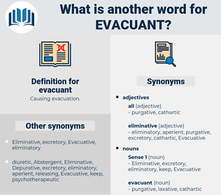 evacuant, synonym evacuant, another word for evacuant, words like evacuant, thesaurus evacuant