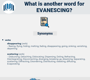 Evanescing, synonym Evanescing, another word for Evanescing, words like Evanescing, thesaurus Evanescing