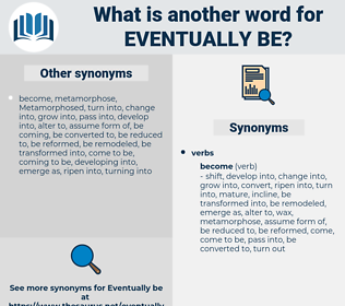 eventually be, synonym eventually be, another word for eventually be, words like eventually be, thesaurus eventually be