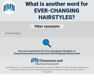 ever-changing hairstyles, synonym ever-changing hairstyles, another word for ever-changing hairstyles, words like ever-changing hairstyles, thesaurus ever-changing hairstyles