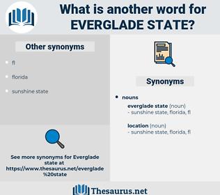 everglade state, synonym everglade state, another word for everglade state, words like everglade state, thesaurus everglade state