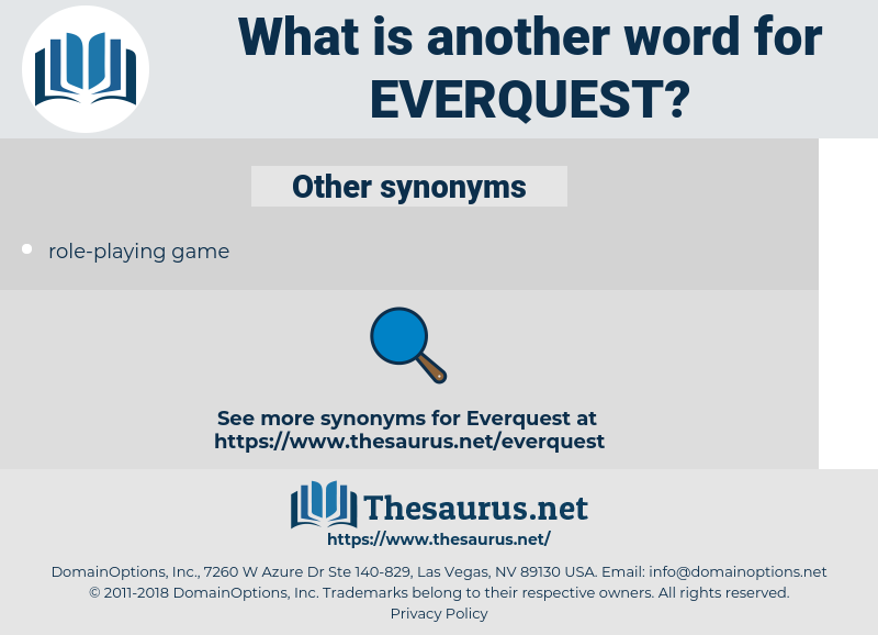 everquest, synonym everquest, another word for everquest, words like everquest, thesaurus everquest