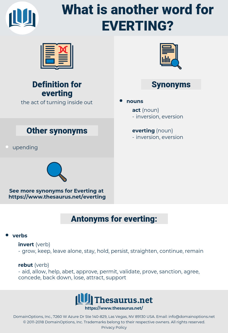 everting, synonym everting, another word for everting, words like everting, thesaurus everting