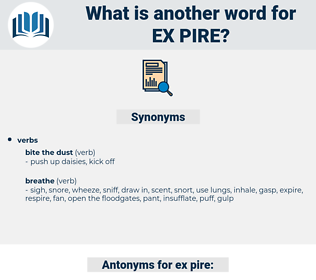 ex pire, synonym ex pire, another word for ex pire, words like ex pire, thesaurus ex pire