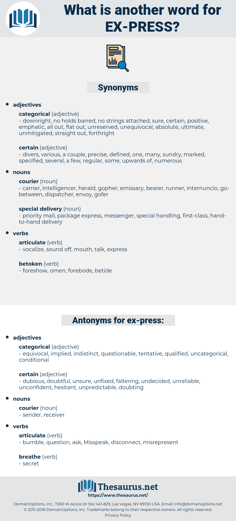 ex press, synonym ex press, another word for ex press, words like ex press, thesaurus ex press