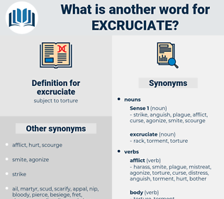 excruciate, synonym excruciate, another word for excruciate, words like excruciate, thesaurus excruciate