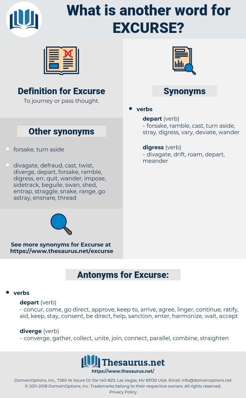 Excurse, synonym Excurse, another word for Excurse, words like Excurse, thesaurus Excurse
