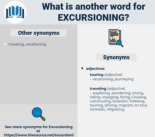 excursioning, synonym excursioning, another word for excursioning, words like excursioning, thesaurus excursioning
