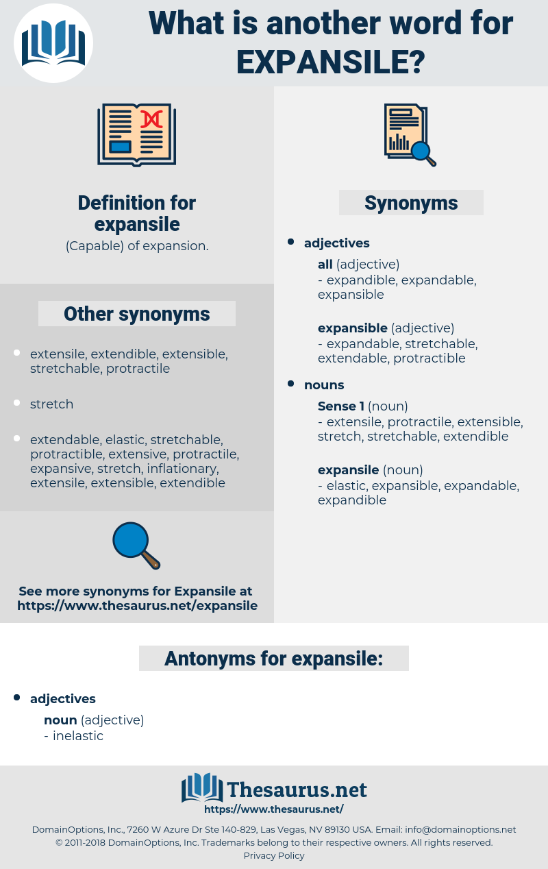 expansile, synonym expansile, another word for expansile, words like expansile, thesaurus expansile