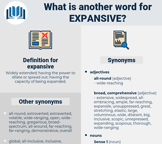 expansive, synonym expansive, another word for expansive, words like expansive, thesaurus expansive