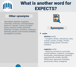 expects, synonym expects, another word for expects, words like expects, thesaurus expects