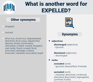 Expelled, synonym Expelled, another word for Expelled, words like Expelled, thesaurus Expelled