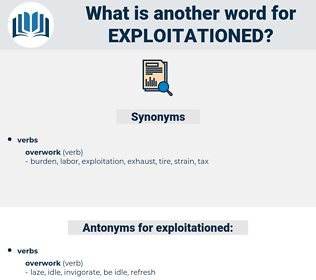 exploitationed, synonym exploitationed, another word for exploitationed, words like exploitationed, thesaurus exploitationed