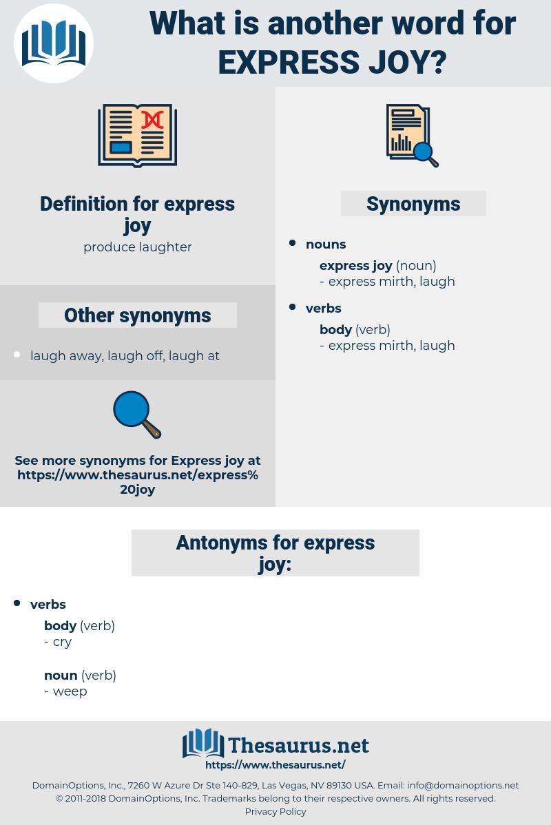 express joy, synonym express joy, another word for express joy, words like express joy, thesaurus express joy