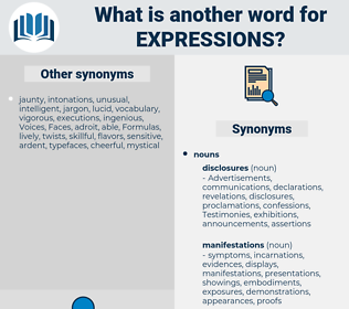 expressions, synonym expressions, another word for expressions, words like expressions, thesaurus expressions
