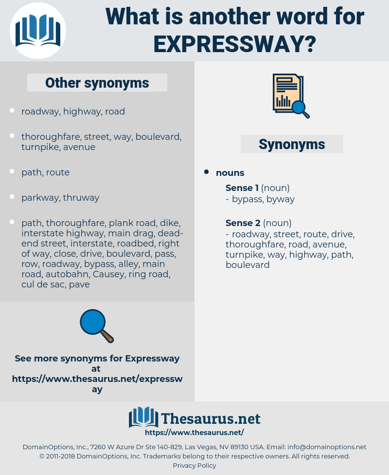 expressway, synonym expressway, another word for expressway, words like expressway, thesaurus expressway