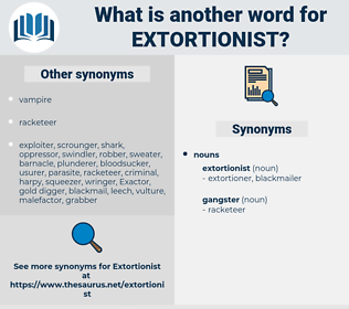 extortionist, synonym extortionist, another word for extortionist, words like extortionist, thesaurus extortionist