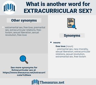 extracurricular sex, synonym extracurricular sex, another word for extracurricular sex, words like extracurricular sex, thesaurus extracurricular sex