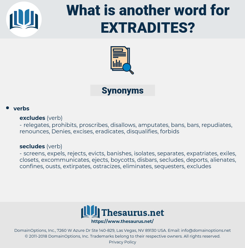 extradites, synonym extradites, another word for extradites, words like extradites, thesaurus extradites