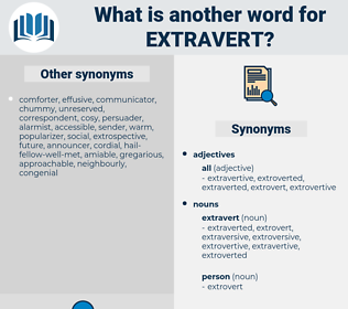 extravert, synonym extravert, another word for extravert, words like extravert, thesaurus extravert