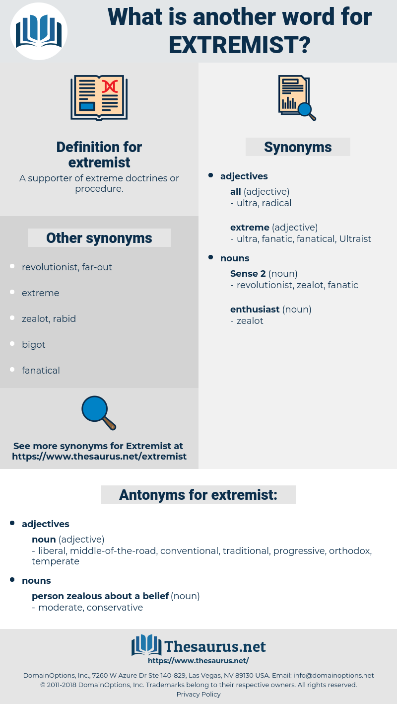extremist, synonym extremist, another word for extremist, words like extremist, thesaurus extremist