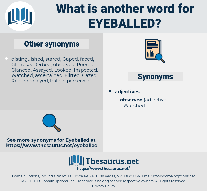 eyeballed, synonym eyeballed, another word for eyeballed, words like eyeballed, thesaurus eyeballed