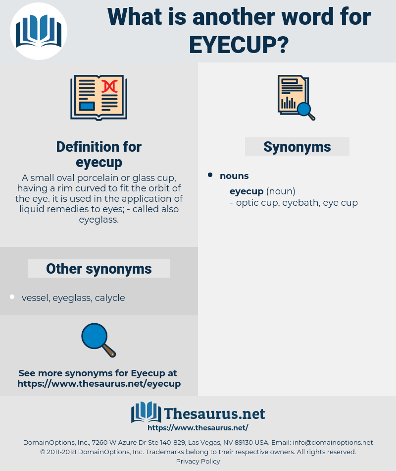 eyecup, synonym eyecup, another word for eyecup, words like eyecup, thesaurus eyecup