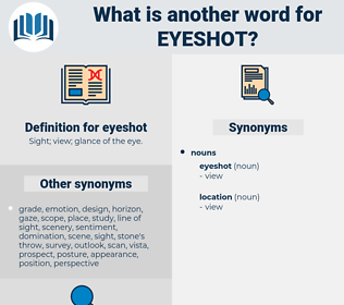 eyeshot, synonym eyeshot, another word for eyeshot, words like eyeshot, thesaurus eyeshot