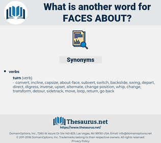 faces about, synonym faces about, another word for faces about, words like faces about, thesaurus faces about