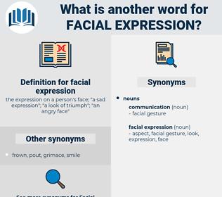 facial expression, synonym facial expression, another word for facial expression, words like facial expression, thesaurus facial expression