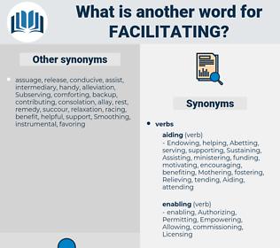 Facilitating, synonym Facilitating, another word for Facilitating, words like Facilitating, thesaurus Facilitating