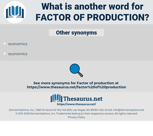 factor of production, synonym factor of production, another word for factor of production, words like factor of production, thesaurus factor of production