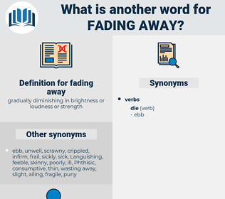 fading away, synonym fading away, another word for fading away, words like fading away, thesaurus fading away