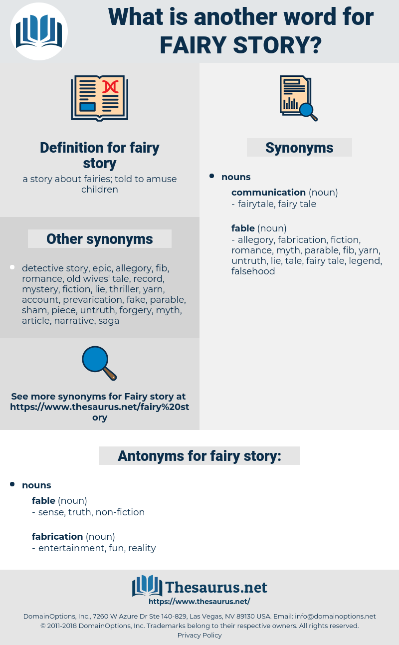 fairy story, synonym fairy story, another word for fairy story, words like fairy story, thesaurus fairy story