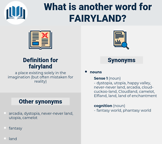 fairyland, synonym fairyland, another word for fairyland, words like fairyland, thesaurus fairyland