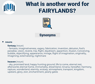 fairylands, synonym fairylands, another word for fairylands, words like fairylands, thesaurus fairylands