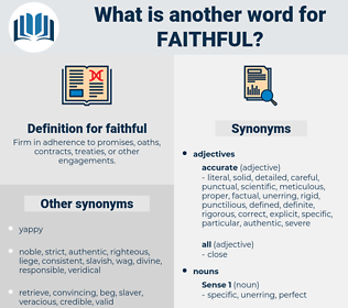 faithful, synonym faithful, another word for faithful, words like faithful, thesaurus faithful