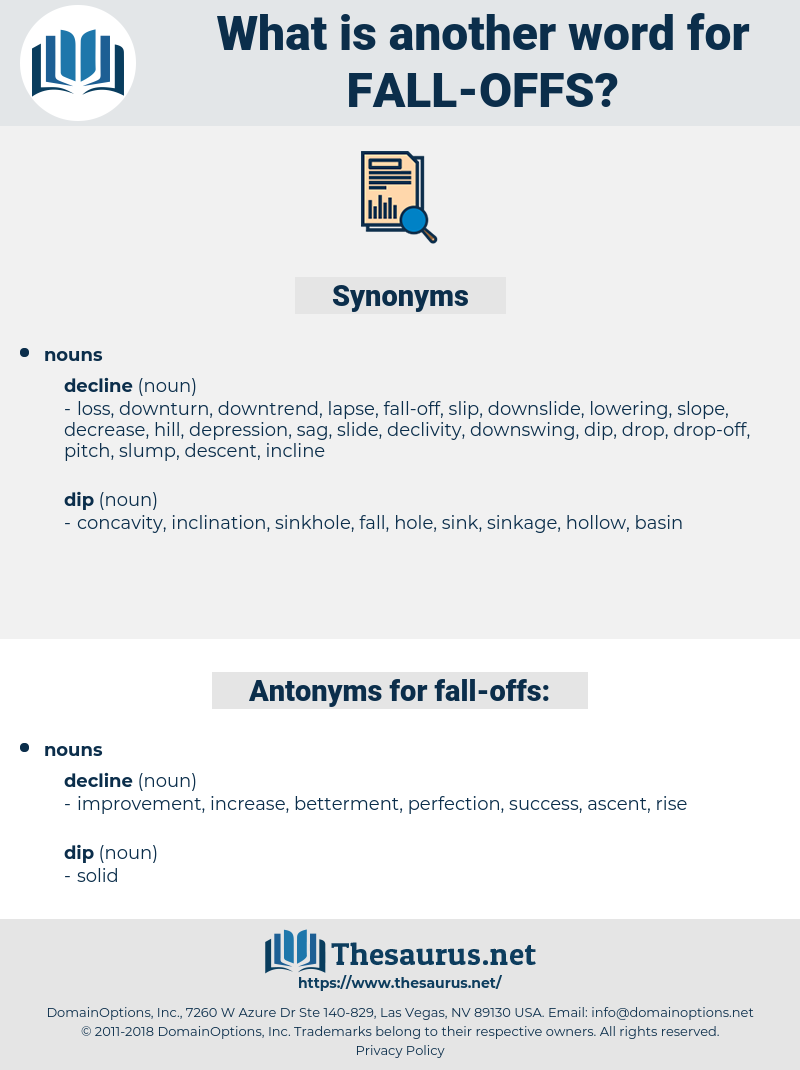 fall-offs, synonym fall-offs, another word for fall-offs, words like fall-offs, thesaurus fall-offs