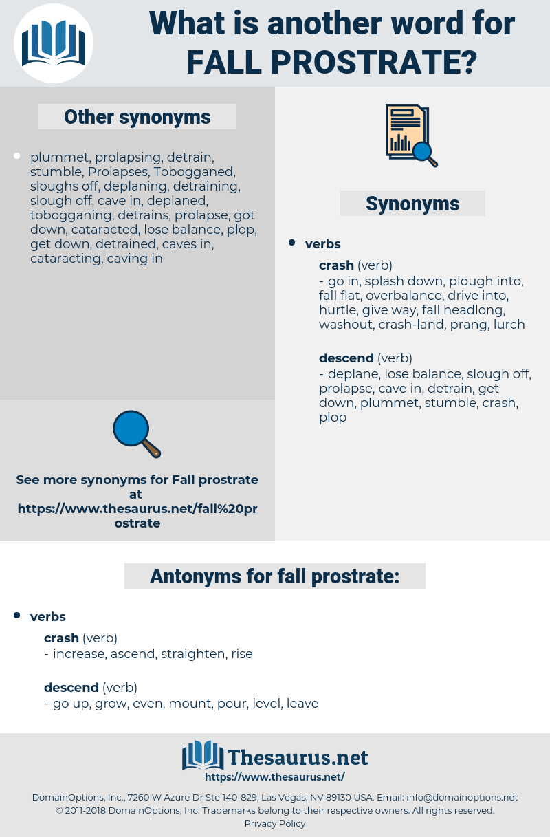 fall prostrate, synonym fall prostrate, another word for fall prostrate, words like fall prostrate, thesaurus fall prostrate