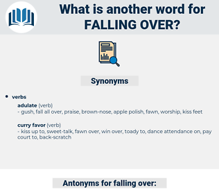falling over, synonym falling over, another word for falling over, words like falling over, thesaurus falling over