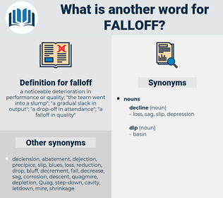 falloff, synonym falloff, another word for falloff, words like falloff, thesaurus falloff
