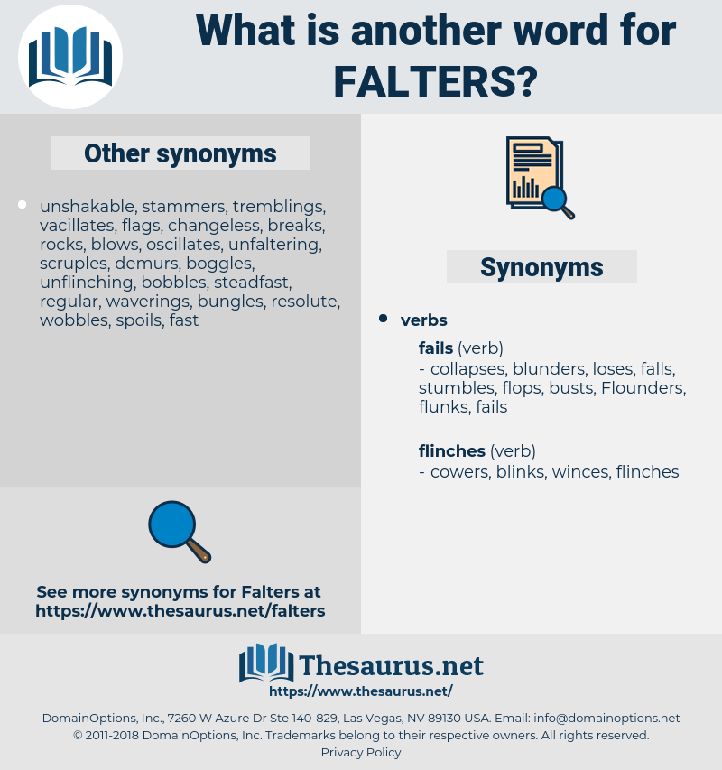 falters, synonym falters, another word for falters, words like falters, thesaurus falters