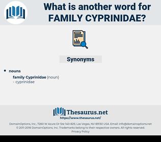 Family Cyprinidae, synonym Family Cyprinidae, another word for Family Cyprinidae, words like Family Cyprinidae, thesaurus Family Cyprinidae