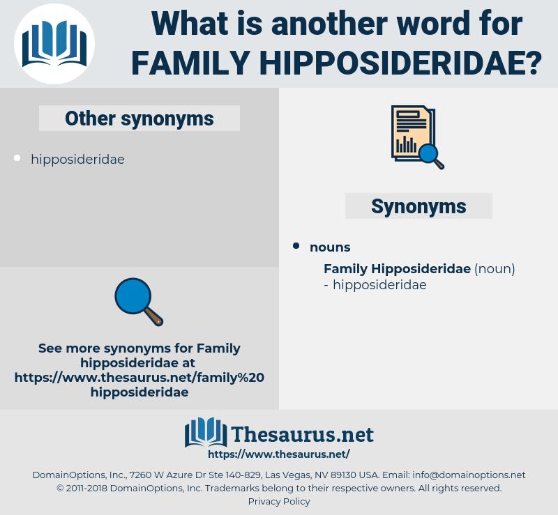 Family Hipposideridae, synonym Family Hipposideridae, another word for Family Hipposideridae, words like Family Hipposideridae, thesaurus Family Hipposideridae