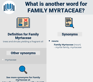 Family Myrtaceae, synonym Family Myrtaceae, another word for Family Myrtaceae, words like Family Myrtaceae, thesaurus Family Myrtaceae
