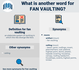 fan vaulting, synonym fan vaulting, another word for fan vaulting, words like fan vaulting, thesaurus fan vaulting