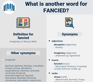 fancied, synonym fancied, another word for fancied, words like fancied, thesaurus fancied