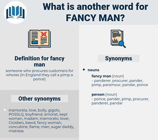 fancy man, synonym fancy man, another word for fancy man, words like fancy man, thesaurus fancy man